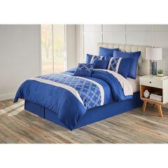 Charlie 8-PC. Comforter Set, BLUE