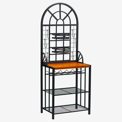 Dome Baker's Rack, BLACK