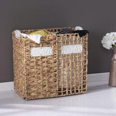 Lohja Laundry Hamper Set, NATURAL