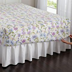 300-TC Cotton Printed Bed Tite™ Sheet Set, BLUE FLORAL