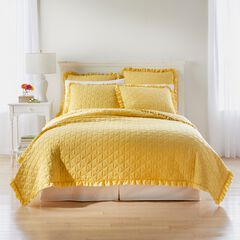 Serena Washed Microfiber Quilt, SUNSHINE YELLOW