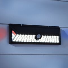 Motion Sensor Alarm Light, BLACK