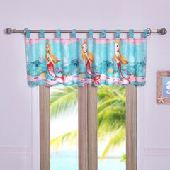 Mermaid Window Valance , MULTI