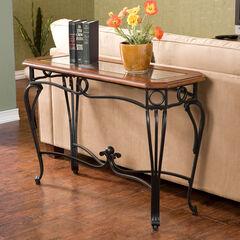 Prentice Sofa Table, BLACK