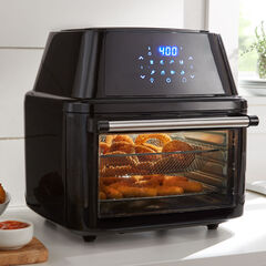 16-Lt. Air Fryer Oven, BLACK