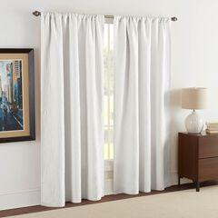 Raphaela European Matelassé Window Panel Pair, WHITE