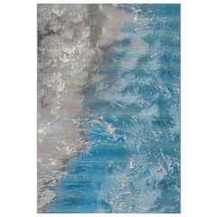 Liora Manne Marina Surf Indoor/Outdoor Rug, OCEAN