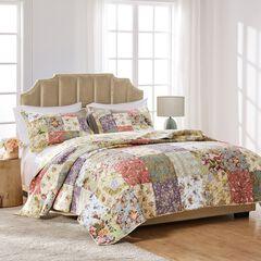 Blooming Prairie Quilt Set , SAGE