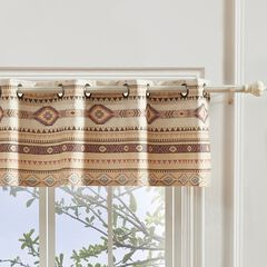 Phoenix Tan Window Valance , TAN
