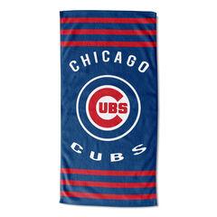 Cubs Stripes Beach Towel, MULTI
