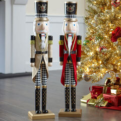Wooden Nutcracker, GOLD