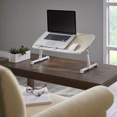 Folding Laptop Desk, NATURAL