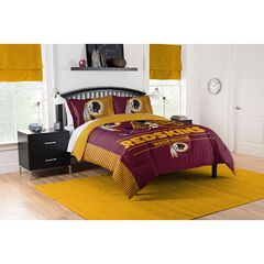 COMFORTER SET DRAFT-REDSKINS, MULTI