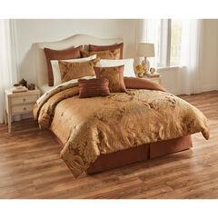 Henry 8-PC. Jacquard Comforter Set, TAUPE