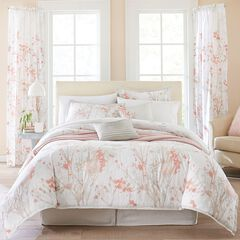 Funky Floral 6-Pc. Comforter Set, SOFT CORAL MULTI