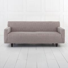 BH Studio Ikat Stretch Extra-Long Sofa Slipcover, GRAY