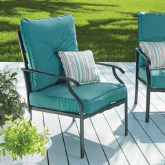 Hampton Bay Deep Seating Chair, TEAL