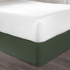 BH Studio Bedskirt, EVERGREEN