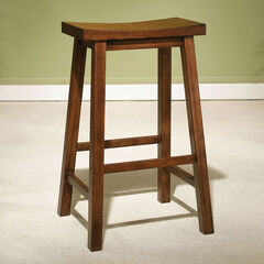 Bennett Saddle Barstool, HONEY BROWN