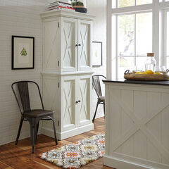 Seaside Lodge Kitchen Pantry, WHITE