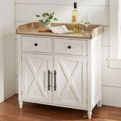Beaumont 2-Drawer Cabinet, WHITE