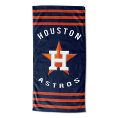 Astros Stripes Beach Towel, MULTI