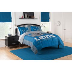 COMFORTER SET DRAFT-LIONS, MULTI