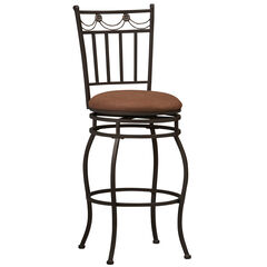"Swag Counter Stool, 24""H, POWDER"
