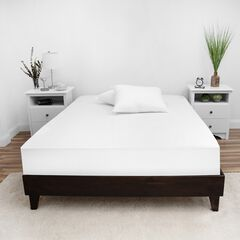 SensorPEDIC Complete Waterproof Mattress Encasement with Bed Bug Protection, WHITE
