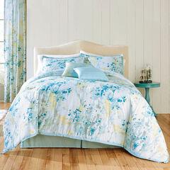 Funky Floral 6-Pc. Comforter Set, SEAFOAM MULTI