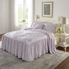 Madison Flounce Chenille Bedspread, LILAC