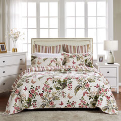 Butterflies Quilt Set , OFF WHITE