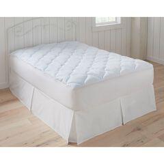 Foam Mattress Cooling Pad, WHITE