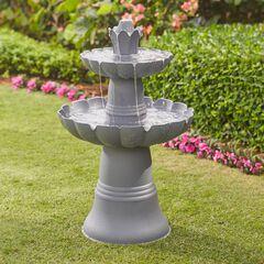 2-Tier Fountain, STONE