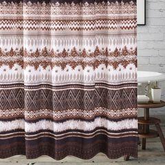 Southwest Latte Bath Shower Curtain, LATTE