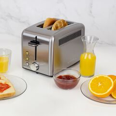 2-Slice Rapid Toaster , STAINLESS STEEL
