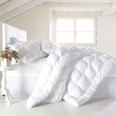 200-TC Cotton Puff Comforter, WHITE