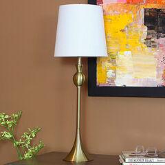 Wynn Buffet Lamp, BRASS