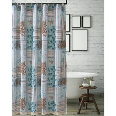 Key West Seafoam Shower Curtain , SEAFOAM