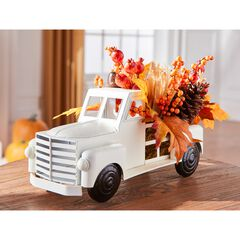Harvest Wheat Truck with Foliage, MULTI