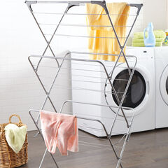 Folding Drying Rack, WHITE