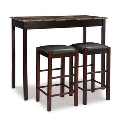 Sutton Three Piece Tavern Set, ESPRESSO