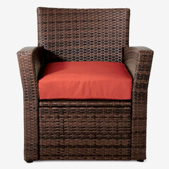 Santiago Chair, BROWN GERANIUM
