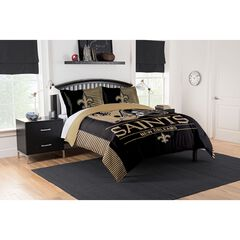 COMFORTER SET DRAFT-SAINTS, MULTI