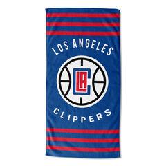 Clippers Stripes Beach Towel, MULTI