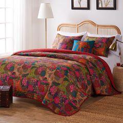 Jewel Bonus Quilt Set, RED