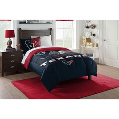 COMFORTER SET DRAFT-TEXANS, MULTI