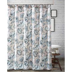 Cruz Shower Curtain , LINEN