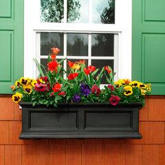 Mayne® Fairfield 3' Window Box, BLACK