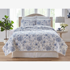 Floral 6-Pc. Quilt Set, BLUE MULTI